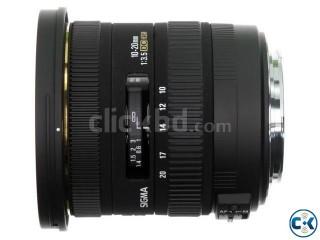 Sigma 10-20 DC HSM ultrawide lens