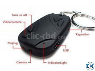 Hidden Key Ring video camera