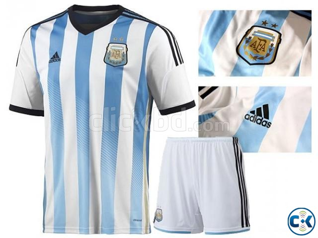 Argentina 2014 World Cup Home Kit Jersey Pant Clickbd