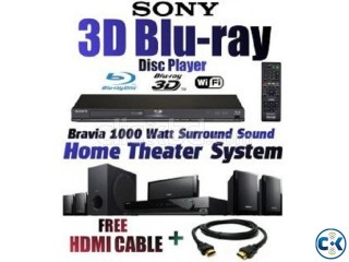 SONY 3D BLURAY HOME THEATER internet 1000WATT