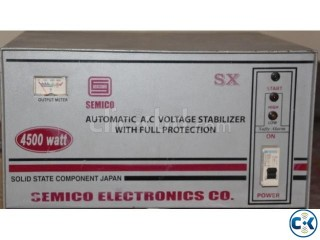 Semico AC Voltage Stabilizer