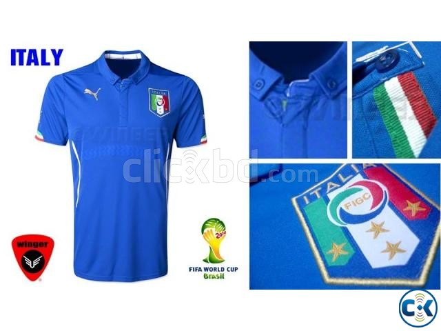 new concept 1da50 27a16 Italy Authentic Soccer Jersey 2014 Home | ClickBD