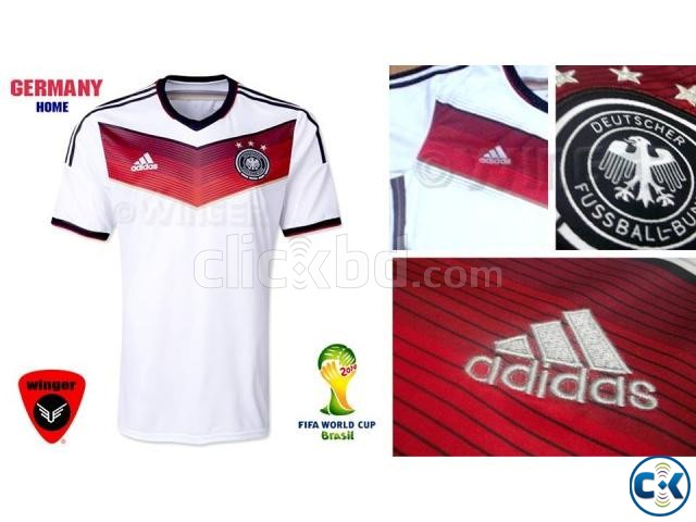 be15a39b0 Germany Authentic Soccer Jersey 2014 Home | ClickBD