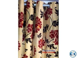 Floral Eyelet Curtain