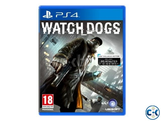 Ps4 watch Dogs Bundle | ClickBD large image 1