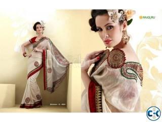 Bombay Motka Silk Saree - Code Shimmer 4634