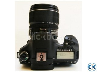 CANON EOS 7D WITH 18-200MM IS LENS CAMERA VISION
