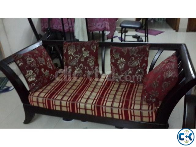 Otobi Sofa Set Showroom Condition | ClickBD Large Image 1