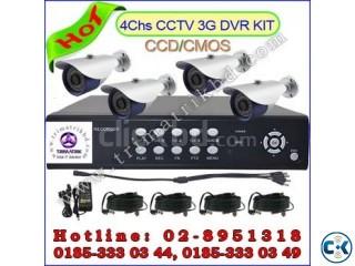 2014 Best Seller CCTV System IR 4chs