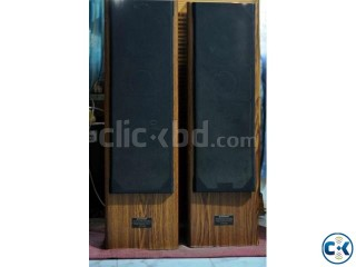 VERTICAL TWIN BASS PIONEER SPEAKER SYSTEM 160 WaTT.