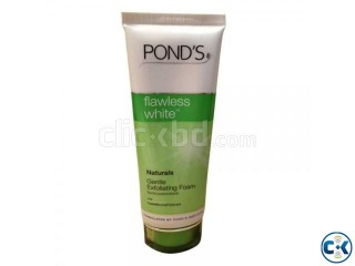 PONDS FLAWLESS WHITE NATURALS GENTLE EXFOLIATING FACE WASH