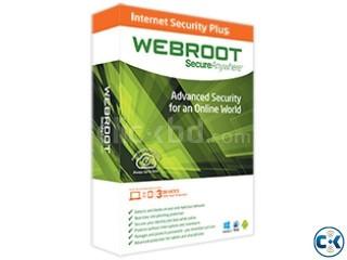 Webroot SecureAnywhere Antivirus.