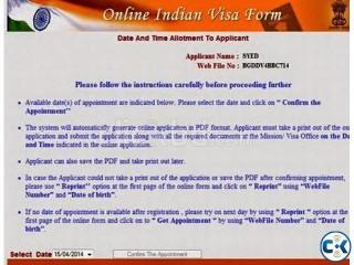 india visa & tour packge