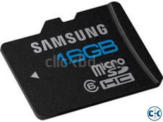 16 GB MEMORY CARD ONLY 550 TK WITH ONE YEAR GERANTEE