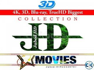 4K 3D 1080p MovieS