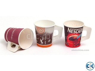 paper cup for hot and cold drinks