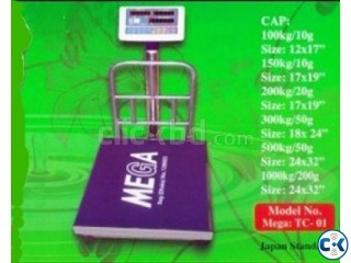 Mega Digital weight scales 50gm to 300 kg