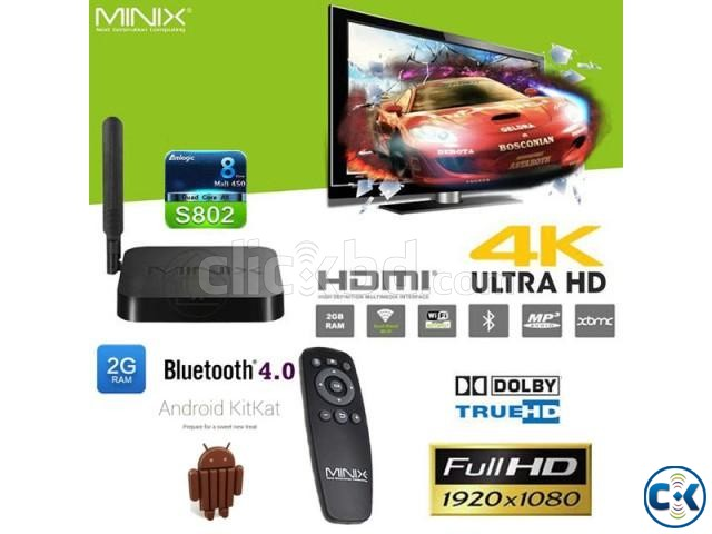 MINIX NEO X8 Octo Core Android KitKat 2G 16G TV Box | ClickBD large image 0