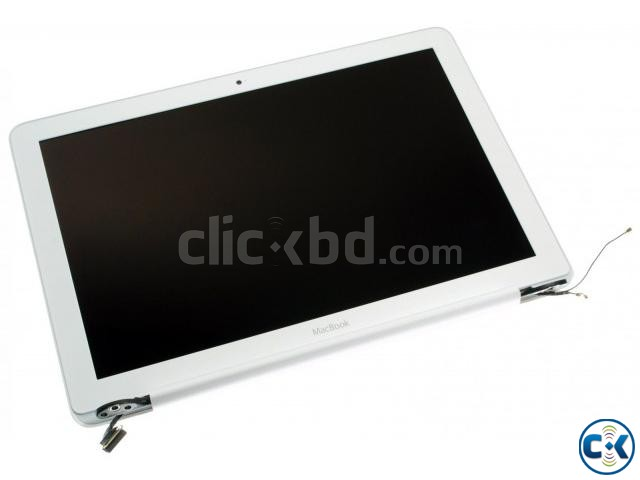 MacBook 13.3 Unibody White A1342 Display assembly- Grade A | ClickBD large image 0