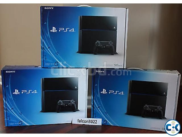 sony ps4 console. sony ps4 console 500gb region 1 | clickbd large image 3 ps4