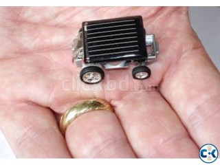 Solar small car toy