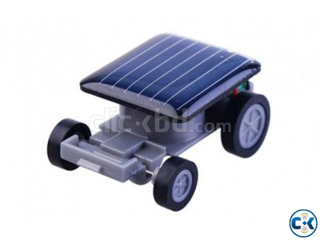 Solar small car toy | ClickBD large image 1