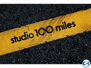 PRACTICE RECORDING COMPOSITION STUDIO 100 MILES