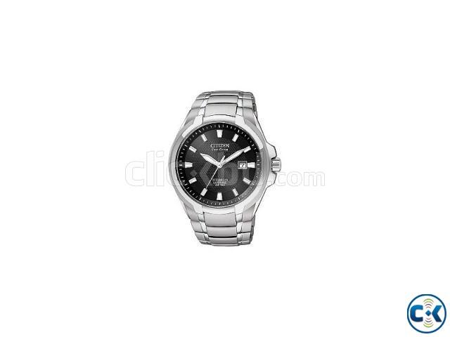 Citizen Eco-Drive men s titanium sapphire bracelet watch | ClickBD large image 0