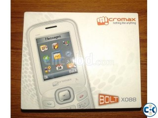 Micromax BOLT X088 with 10 Months Warranty 700 Taka