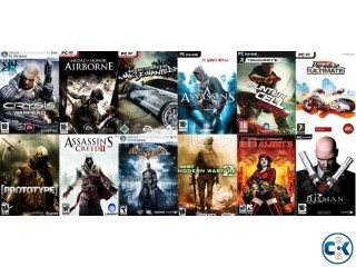 Lates Pc Games DVd only 20 taka