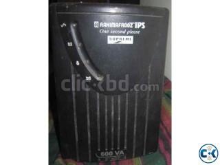 Rahimafrooz 600VA IPS 150Ah Battery 1yr warranty