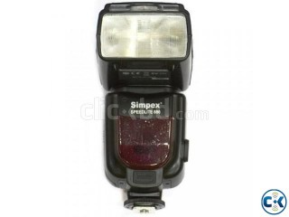 Simpex Speedlite 886 Nikon Mount Powerzoom Ttl Flash