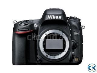 Nikon D600 DSLR Camera Body Only