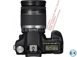 CANON 7D with 18-200mm LENS . CAMERA DREAM