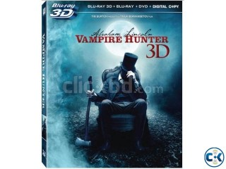 Abraham Linkoln The vampire Hunter 3D BluRay