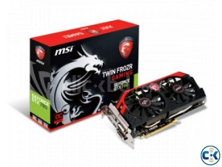 MSI GTX 780Ti 3GD5 Graphics