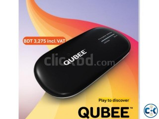 Qubee Pocket Wifi Pebble Postpaid