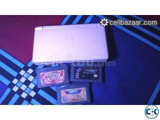 Nintendo DS Light Pink 3 Game Card