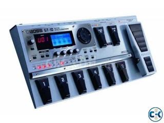 BOSS GT-10 Guitar Processor