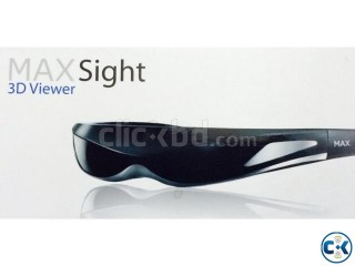 MaxSight 3D Viewer All-in-One Video Eyewear Multimedia Glass