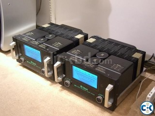 Mcintosh MC 1000 monobloc amplifiers 1000 watts