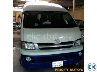 I want to Rent A Hiace Grand Cabin 2005 Monthly Per day
