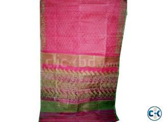 Jamdani Saree Green Hexa Excelusive