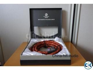 Choseal LB-5111 Audiophile loudspeaker cable banana.
