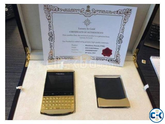 BlackBerry-Porsche-Design-P9981 Gold   ClickBD large image 0