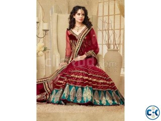 Beautiful kangana ranaut red lehenga choli