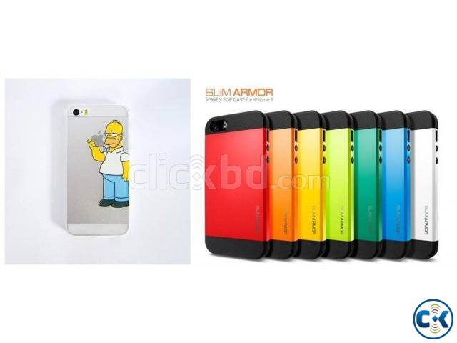 Simpsons and Spigens iPhone Case | ClickBD large image 0