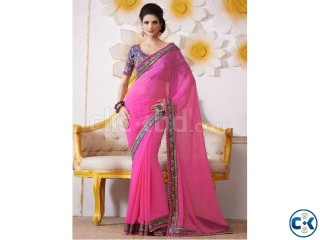 Online saree shopping USA admirable hot pink bamber