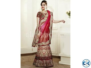Marvelous Net And Satin Lehenga Choli
