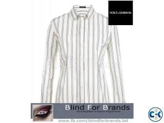 Oroginal Dolce Gabbana Stripe Shirt